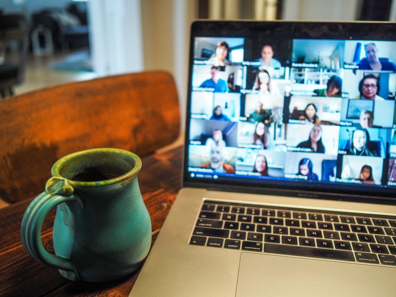 Videokonferenz im Home Office