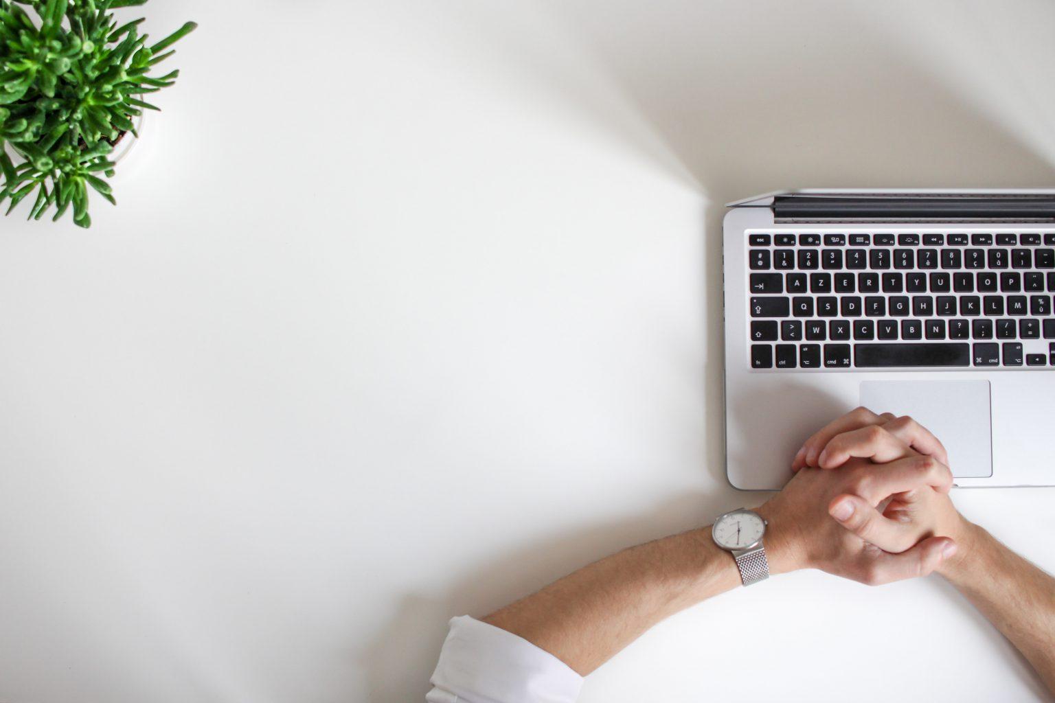 Home Office Laptop Header