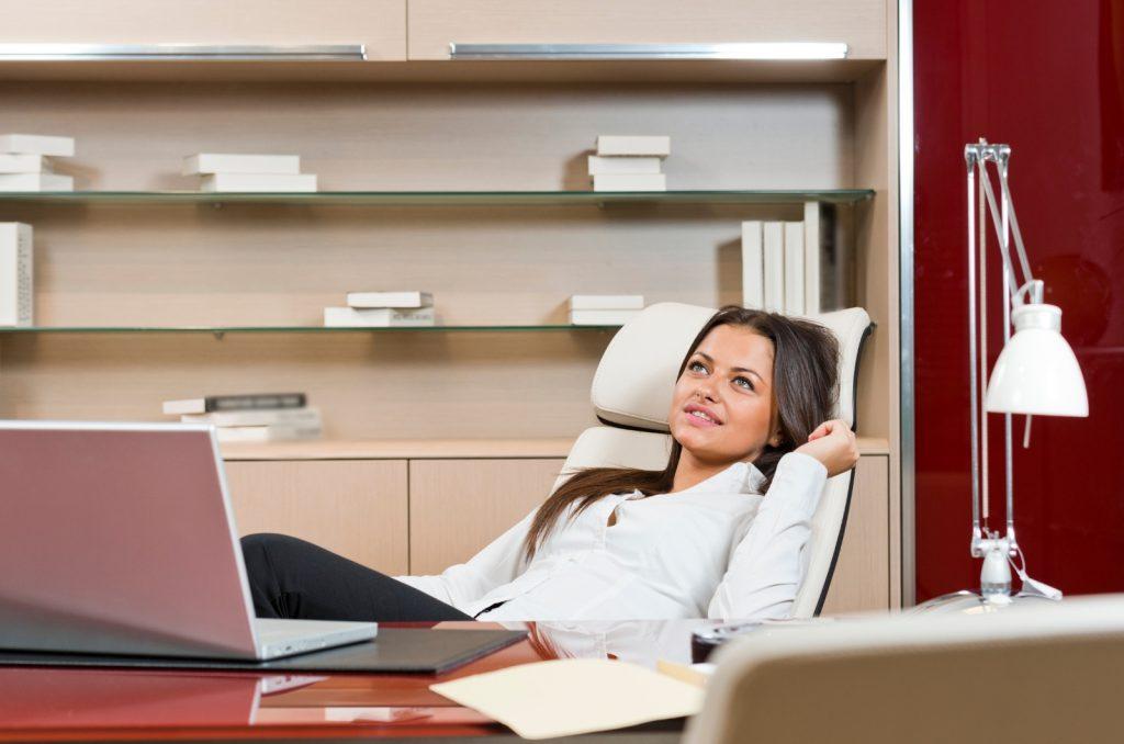 Sitzhaltung und Sitzposition